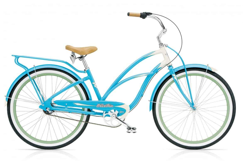 Cruiser Bike Rental Santa Barbara - Ladies Super Deluxe 3-speed Cruiser - Santa Barbara Bikes-To-Go