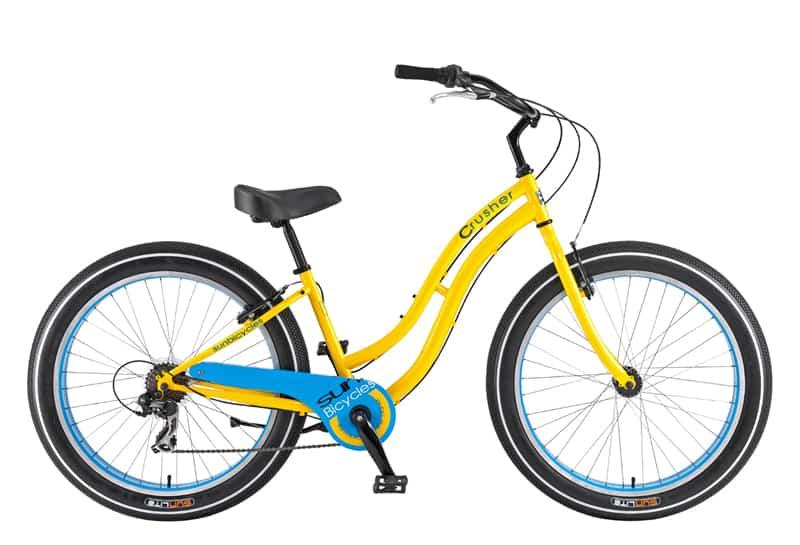 Cruiser Bike Rental Santa Barbara - Sun Crusher 7-Speed - Santa Barbara Bikes-To-Go