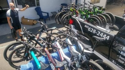 road bike rental delivery